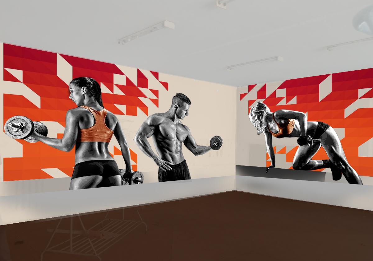 эмиграция картинки на стены в спортзал общение